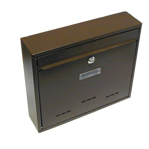 Schránka poštovní G21 RADIM velká 310x360x90mm hnědá + doprava zdarma