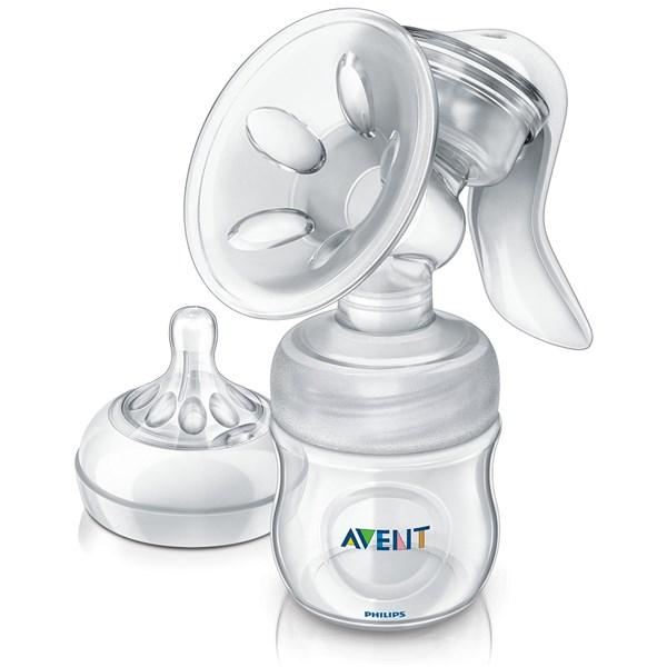 Odsávačka mateřského mléka Philips AVENT Natural se zásobníkem 125 ml PP, bílá