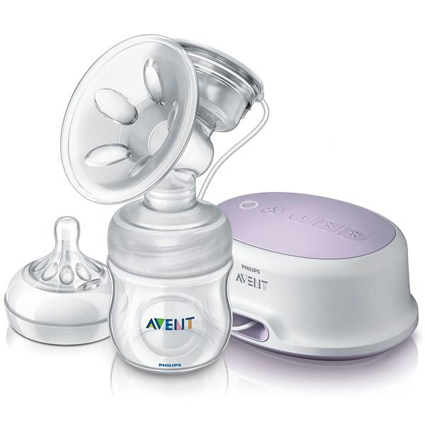Odsávačka mateřského mléka Philips AVENT Natural, elektronická + doprava zdarma