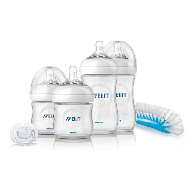 Startovací sada kojeneckých lahviček AVENT Natural (PP)