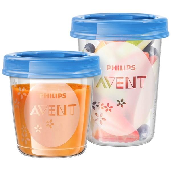 VIA pohárky Philips AVENT 20ks + doprava zdarma
