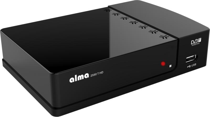 ALMA DVB-T HD přijímač 2550 T HD