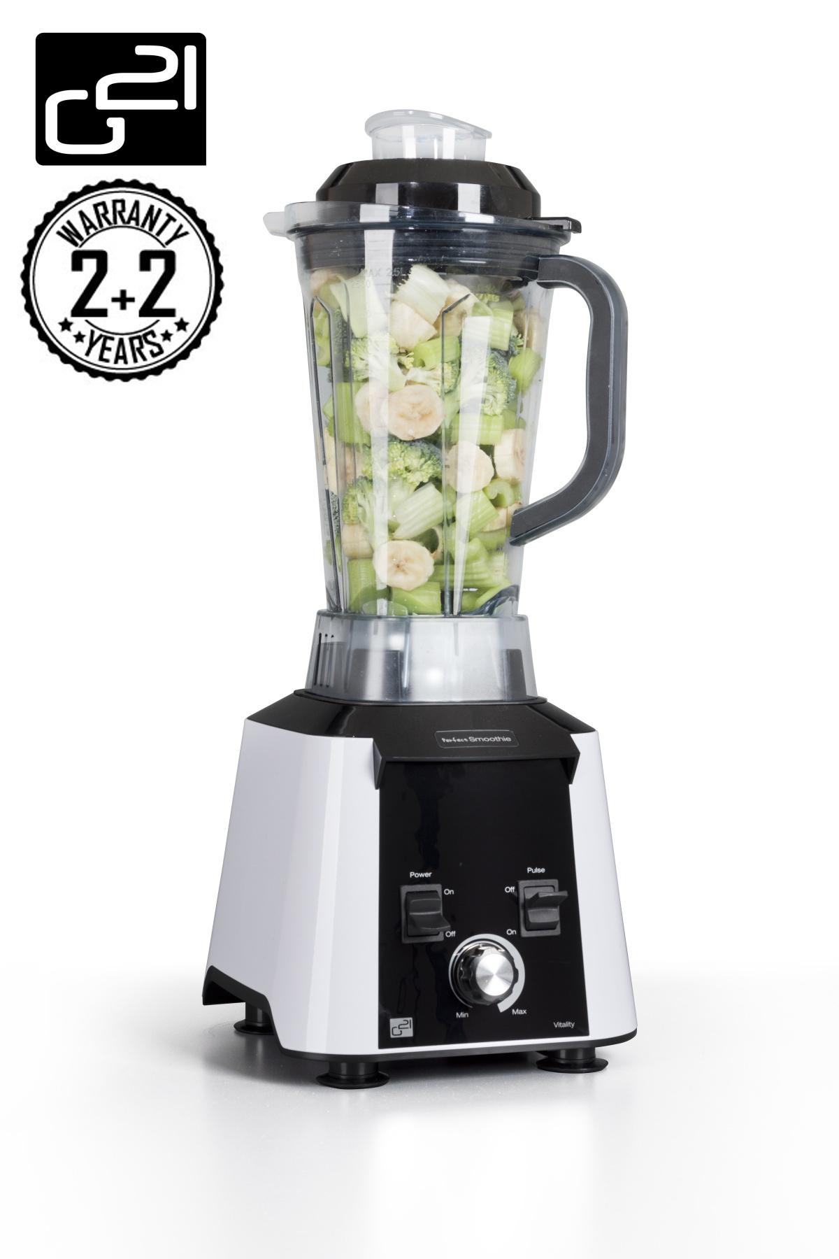 Blender G21 Perfect smoothie Vitality white + DÁREK v hodnotě až 799,- Kč ZDARMA! + doprava zdarma