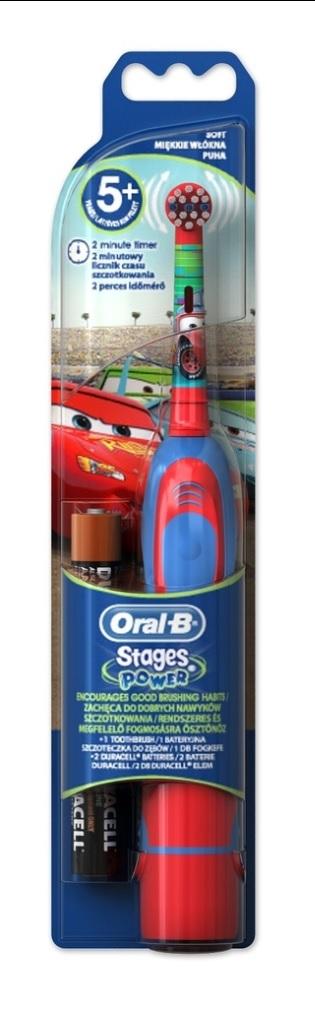 ORAL-B D2 Battery kids DB 4K CARS