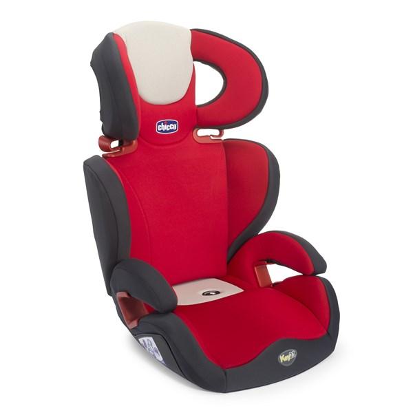Autosedačka Chicco Key 2-3 2016 Fire 15-36 kg - červená + doprava zdarma