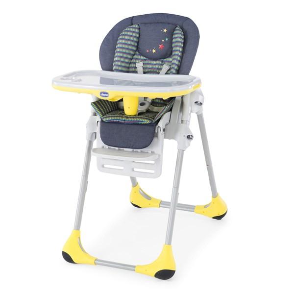 Jídelní židlička Chicco POLLY 2v1 2016 denim + doprava zdarma
