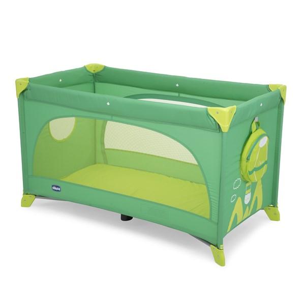 Postýlka cestovní Chicco EASY SLEEP green jam + doprava zdarma