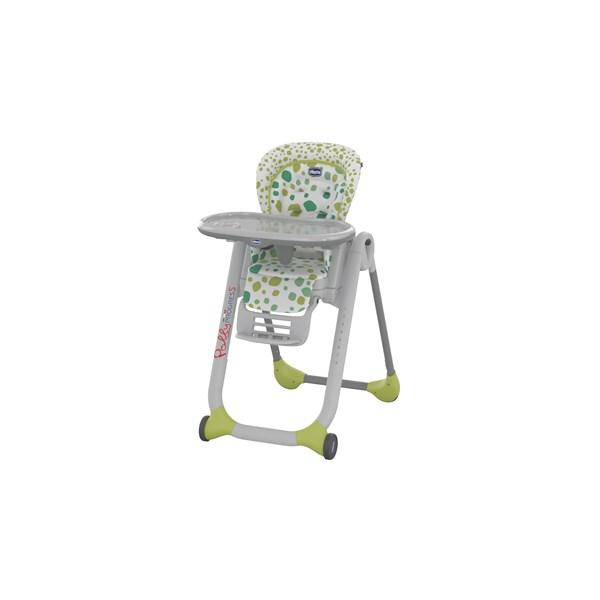 Jídelní židlička Chicco Progress5 2016 SP kiwi + doprava zdarma