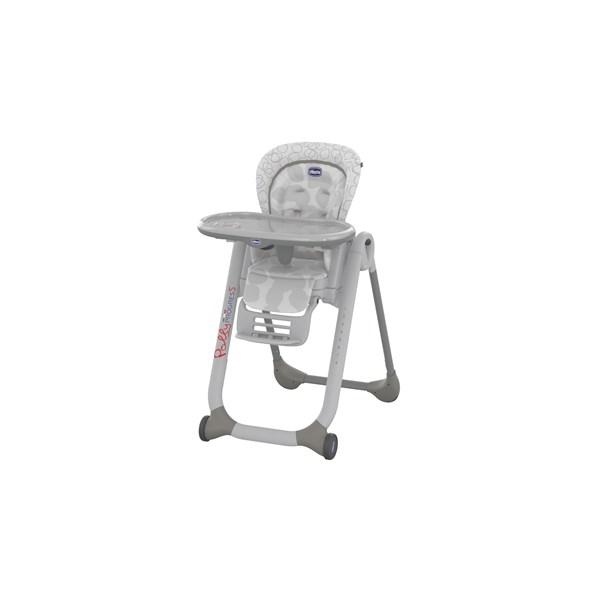 Jídelní židlička Chicco Progress5 2016 SP grey + doprava zdarma