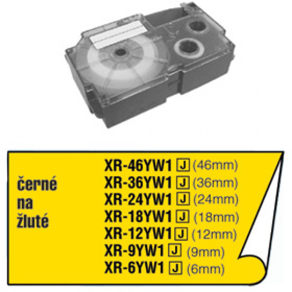 CASIO XR 6 YW1