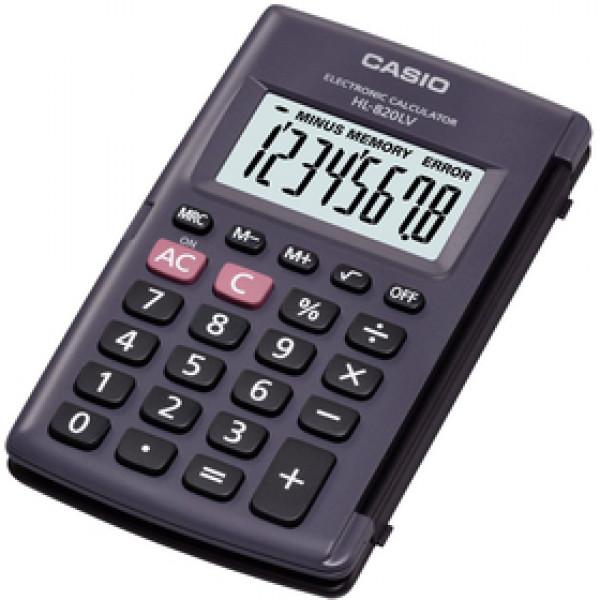 CASIO HL 820 LV BK (b)