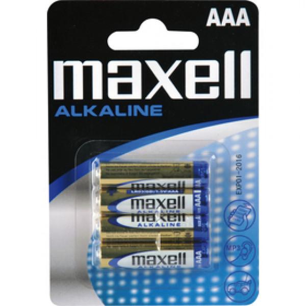 LR03 4BP ALK 4x AAA (R03) MAXELL