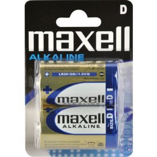 LR20 2BP ALK 2x D (R20) MAXELL