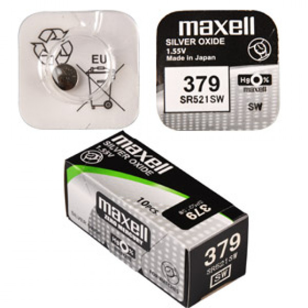 SR 521SW / 379 LD WATCH BAT. MAXELL