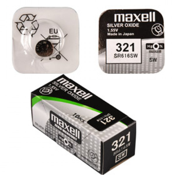 SR 616SW / 321 LD WATCH BAT. MAXELL