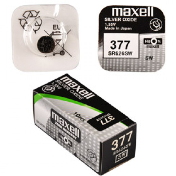 SR 626SW / 377 LD WATCH BAT. MAXELL