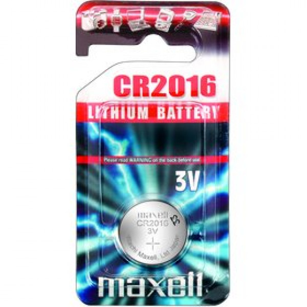 CR 2016 LITH. MINCOVÁ BAT. 3V MAXELL