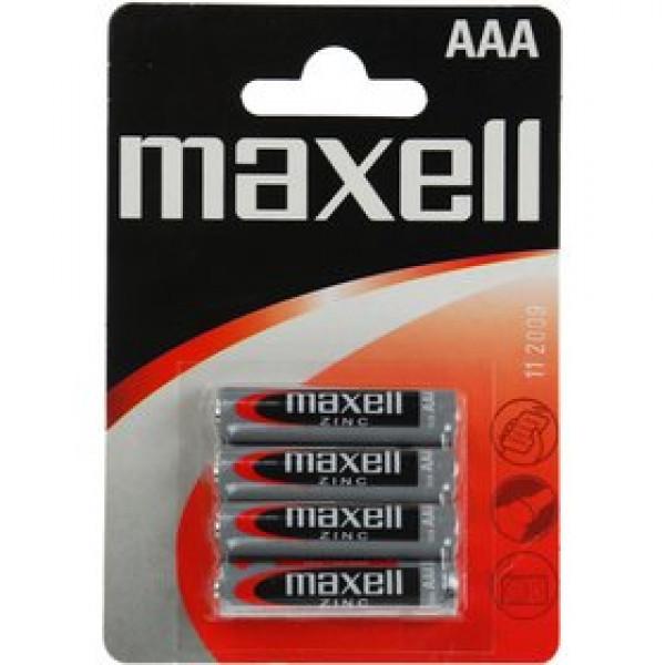 R03 4BP Zinc 4x AAA MAXELL