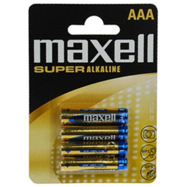 LR03 4BP AAA Super Alk MAXELL