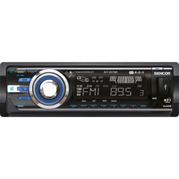 SCT 3017MR AUTORÁDIO S USB/SD/RDS SENCOR
