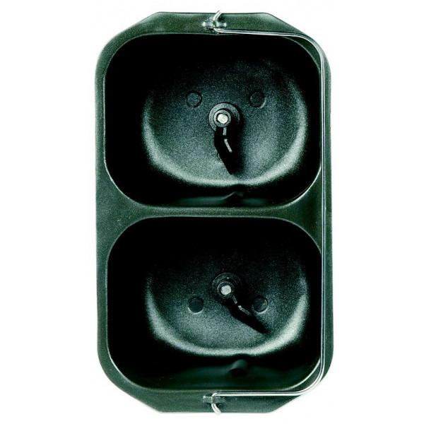 Dvojitá hnětací nádoba  pekáren DOMO B 3955/3956/3990