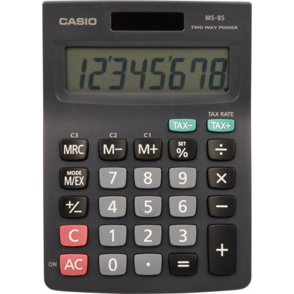 MS 8 B S (TAX+EXCHANGE) CASIO