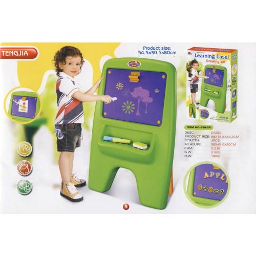 Dětská tabule G21 magnetická s klipem