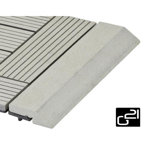 Přechodová lišta G21 pro WPC dlaždice Incana 30x75 cm rovná