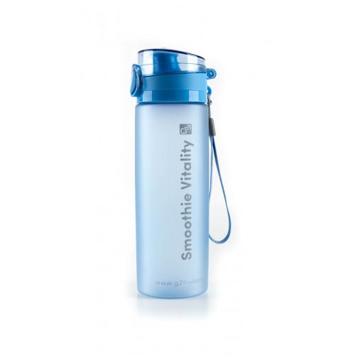Láhev G21 na smoothie/juice, 650 ml, modrá-zmrzlá