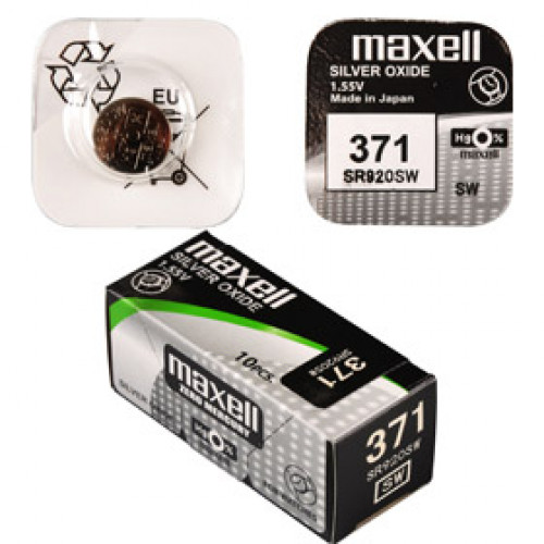 SR 920SW / 371 LD WATCH BAT. MAXELL