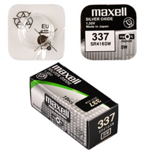 SR 416SW / 337 LD WATCH BAT. MAXELL