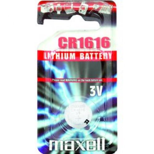 CR 1616 LITH. MINCOVÁ BAT. 3V MAXELL