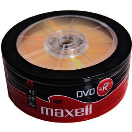 DVD-R 4,7GB 16x 25SH 275731 MAXELL