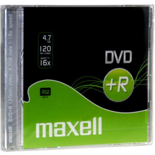 DVD+R 4,7GB 16x 1PK SC MAXELL