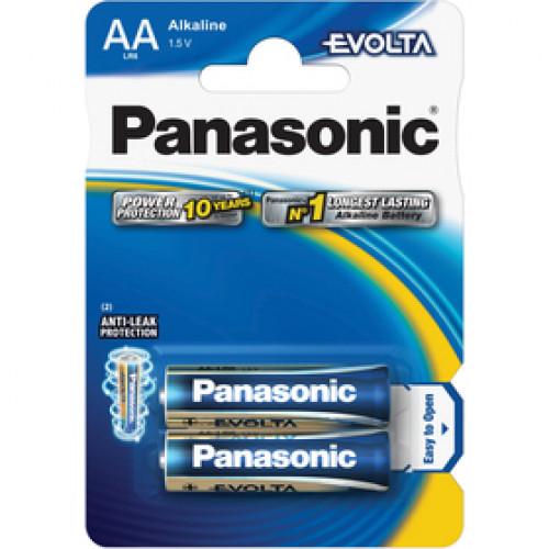 PANASONIC LR6 2BP AA Evolta alk