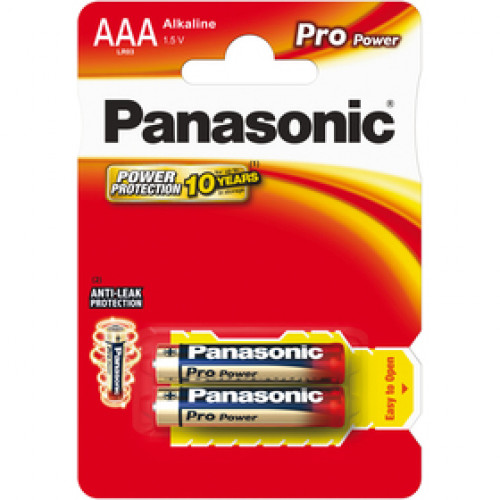 LR03 2BP AAA Pro Power alk PANASONIC