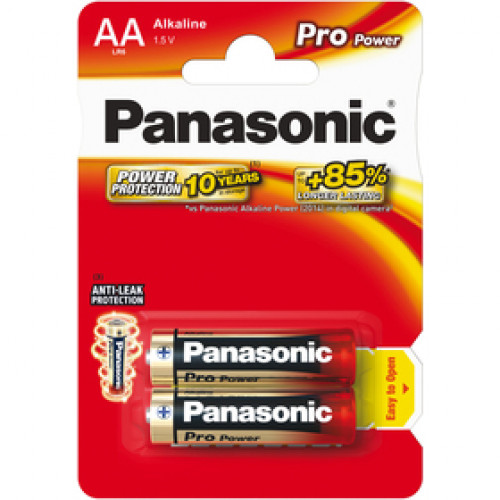 Panasonic LR6 2BP AA Pro Power alk