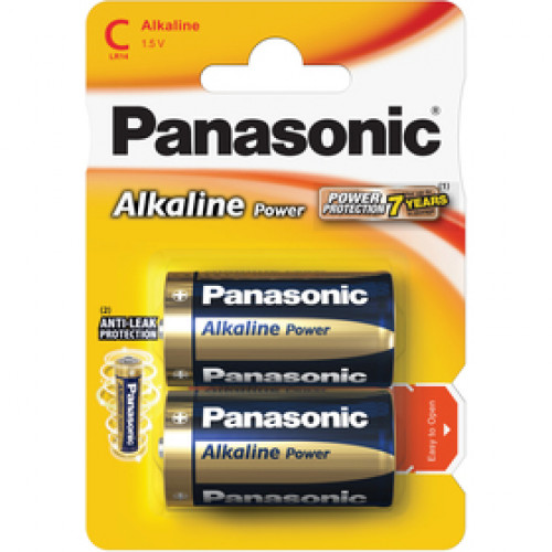 PANASONIC LR14 2BP C Alk Power alk