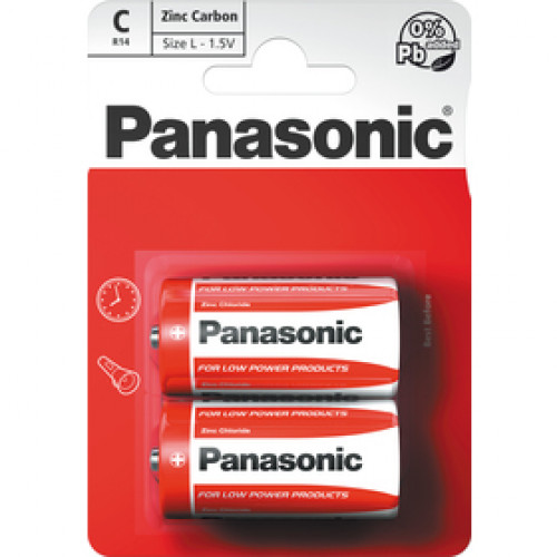 PANASONIC R14 2BP C Red zn