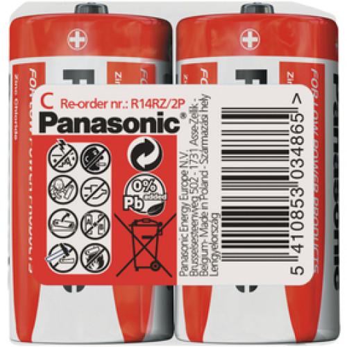 PANASONIC R14 2S C Red zn