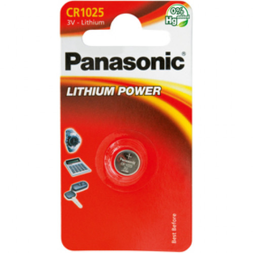 CR-1025 1BP Li PANASONIC