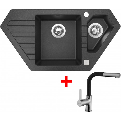 Sinks BRAVO 850.1 Granblack+ENIGMA S GR