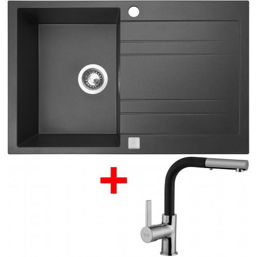 Sinks GRANDE 800 Granblack+ENIGMA S GR