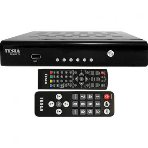 TESLA Senior T2 - DVB‒T2 přijímač