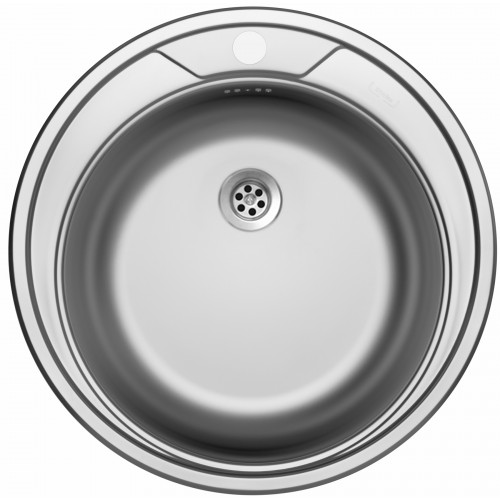 Sinks ROUND 510 M 0,6mm matný
