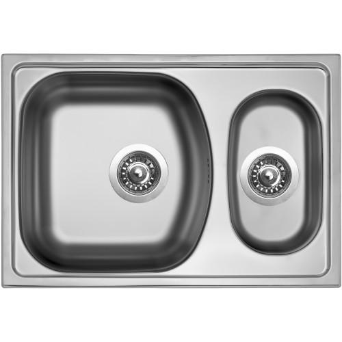 Sinks TWIN 620.1 V 0,6mm matný