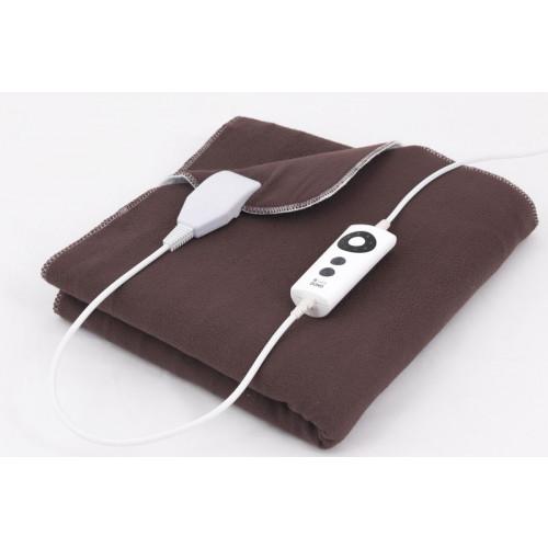 Elektrická dečka -fleece- s časovačem - DOMO DO606ED, dvoulůžková