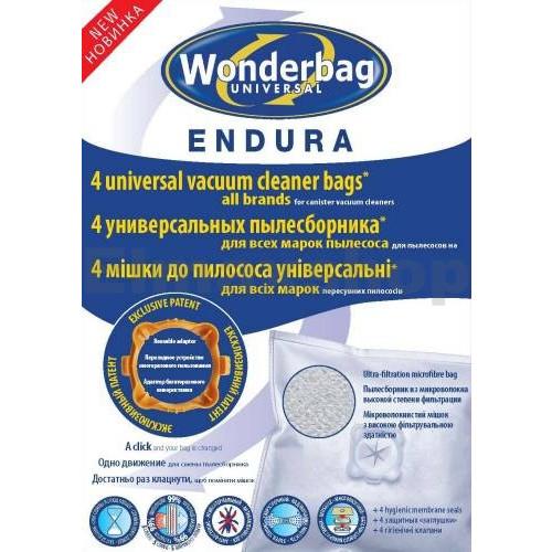 Náhradní sáčky do vysavače ROWENTA Wonderbag Endura WB484740 (4ks)