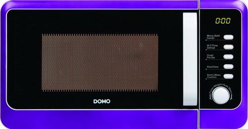 Mikrovlnná trouba s grilem edice retro - DOMO DO2014G, fialová, digitální, 20l + doprava zdarma