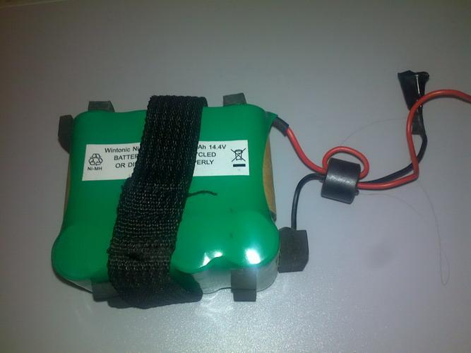 Baterie 14,4V pro aku vysavače DOMO DO203S / DO211S, 1100 mAh, NiMH